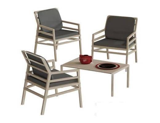 单椅, 茶几, 现代