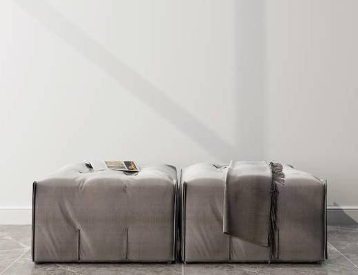 沙发凳, 现代
