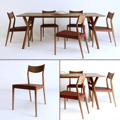 单椅, 北欧, 桌子