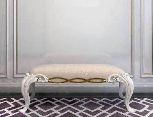凳子, 沙发凳, 简欧