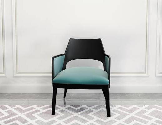 单椅, 椅子, 简欧