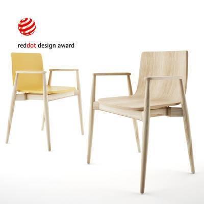 现代, 单椅, 休闲椅, 简约