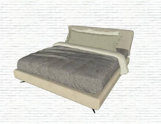 双人床, 现代, 商务, 床具