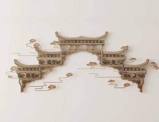 墙饰, 新中式
