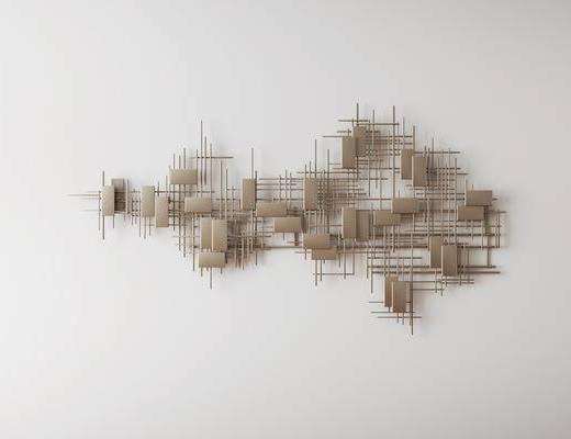 挂件, 墙饰, 后现代
