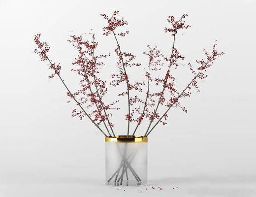 新中式, 花瓶, 陈设品, 中式花瓶