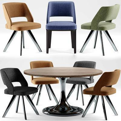 现代, 桌椅组合, 休闲