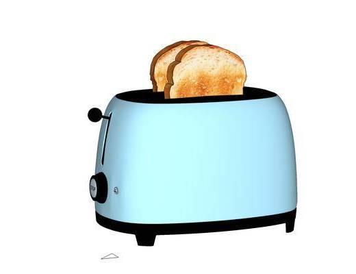 厨房电器, 摆件, 装饰, 面包机