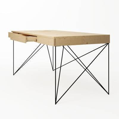 书桌, 桌子, 现代