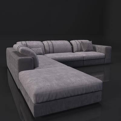 多人沙发, 现代, 沙发