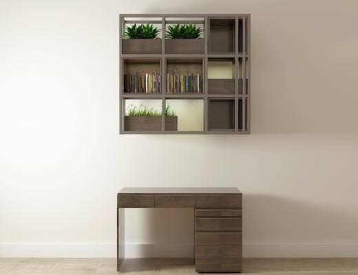 书桌, 装饰架, 北欧