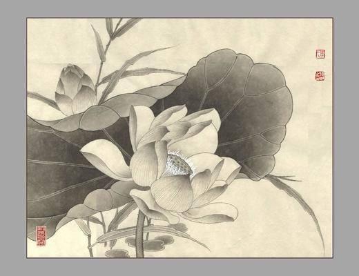 中式字画, 中式