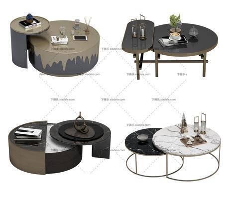 现代, 茶几, 茶几组合, 花瓶