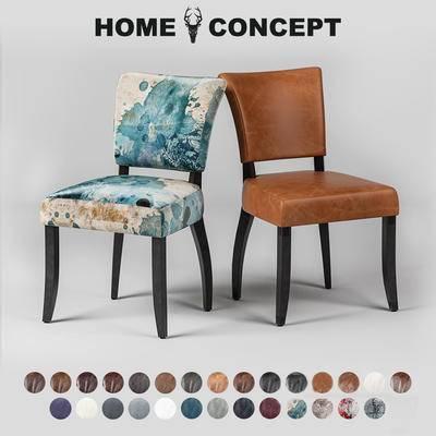 美式复古单人椅, 美式单人椅, 复古单人椅, 单人椅
