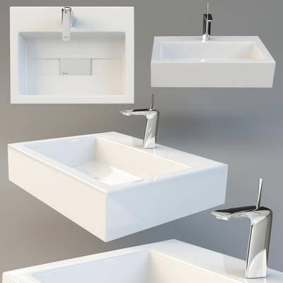 现代, 洗手盘