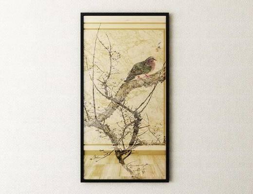 植物画, 新中式