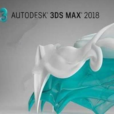 3dmax2018, max2018安装, max安装教程