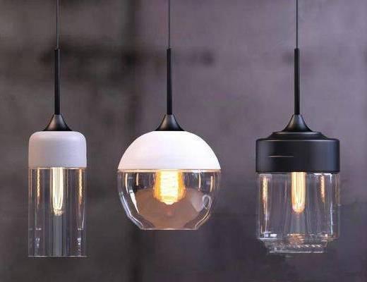 工业风格, 吊灯