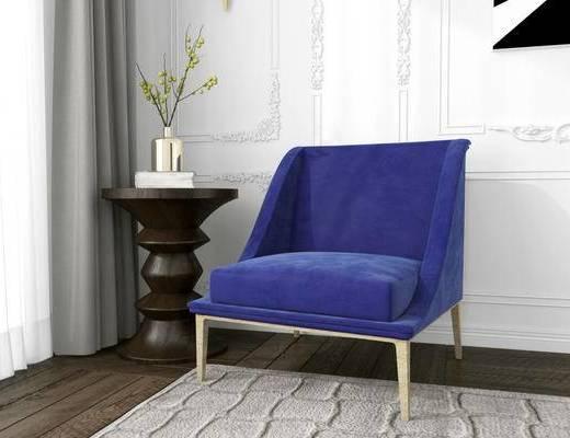 美国KOKET, 北欧, 单人沙发