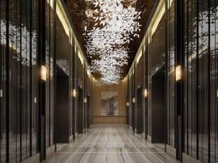 现代酒店电梯间3D模型