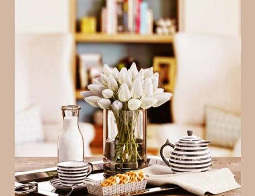 现代, 摆件, 花瓶, 茶具