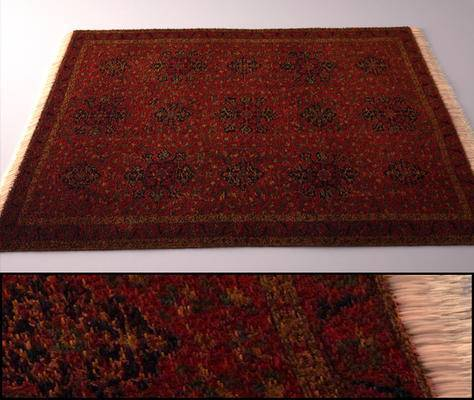 下得乐品牌模型库, 阿拉伯地毯, 地毯, 现代