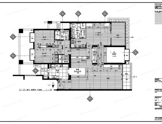 CAD, 施工图, 大师, 家装, 室内, 平面图, 立面图, 下得乐3888套模型合辑