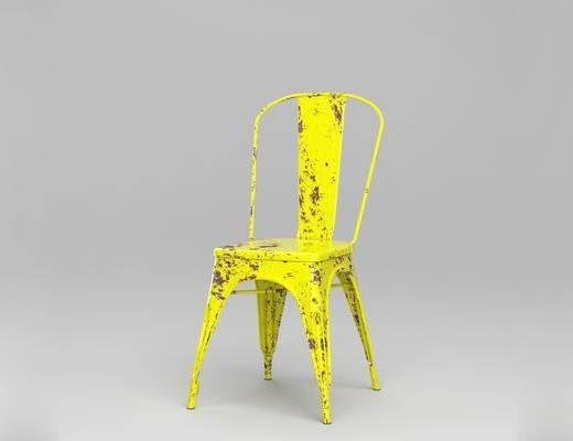 法国Tolix, 现代简约, 椅子, 金属座椅