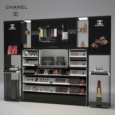 现代, 化妆品, 专柜架
