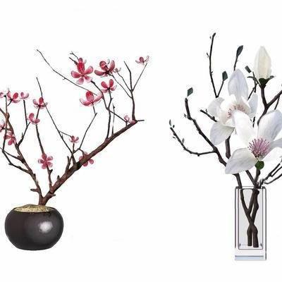 中式, 花瓶, 摆件, 下得乐3888套模型合辑