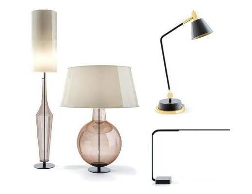 现代简约, 台灯, 灯具