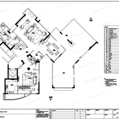 CAD, 施工图, 高文安, 大师, 室内, 家装, 复式, 平面图, 立面图, 大样图, 节点图