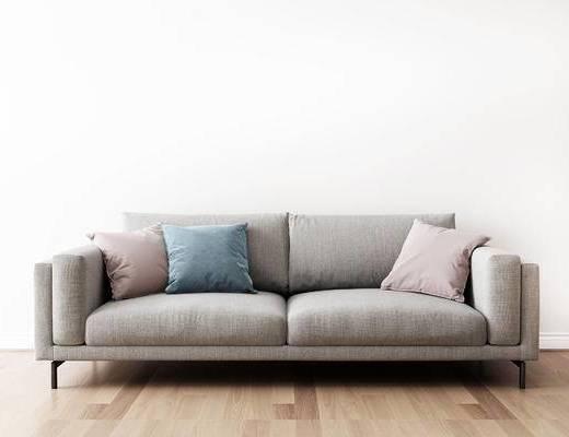 双人沙发, 现代