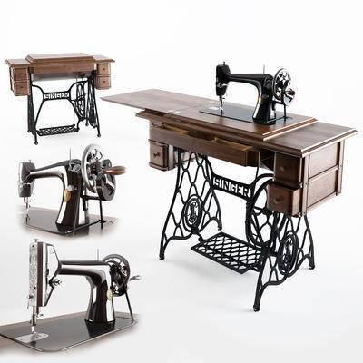 现代, 缝纫机