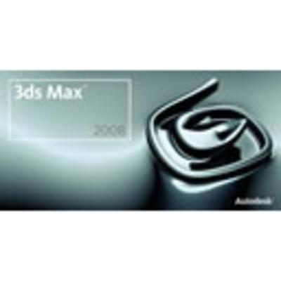 3dmax2008, max2008安装, max安装教程