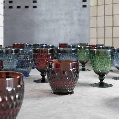 现代, 杯子, 玻璃杯