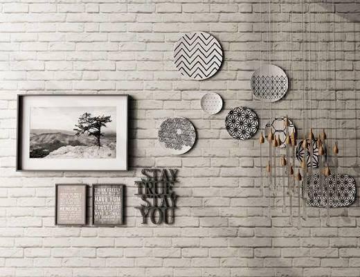 墙饰, 壁画, 现代