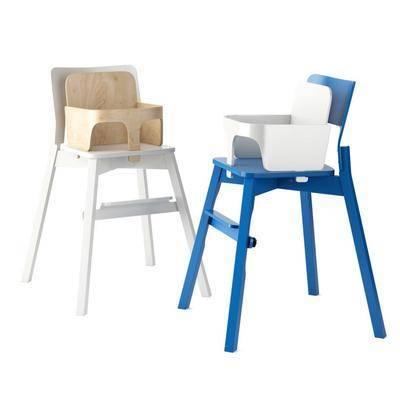 现代, 宝宝椅, 简约, 儿童椅