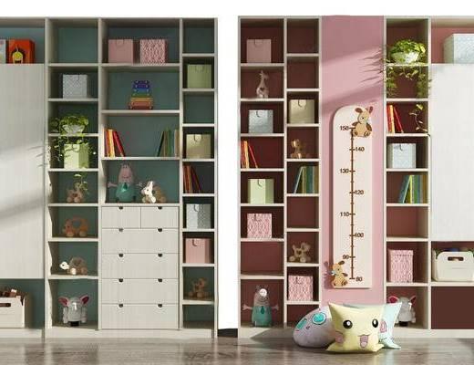 柜架組合, 裝飾柜, 書柜, 書架
