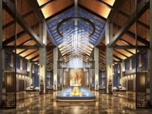 新中式酒店会所大堂3D模型