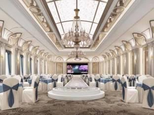 法式酒店婚礼宴会厅3D模型