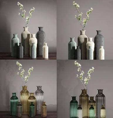 后现代, 花瓶, 摆件, 陈设品