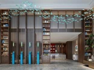 新中式酒店大厅大堂3D模型
