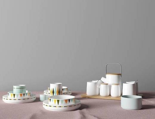 现代餐具组合, 餐具, 餐具组合, 现代餐具