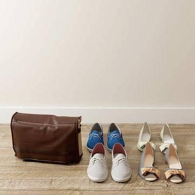 鞋子, 手提包, 现代