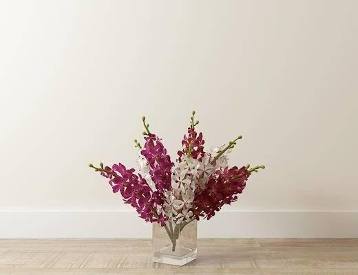 花瓶, 花卉, 现代