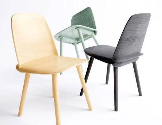 北欧简约, 单人椅子, 北欧椅子