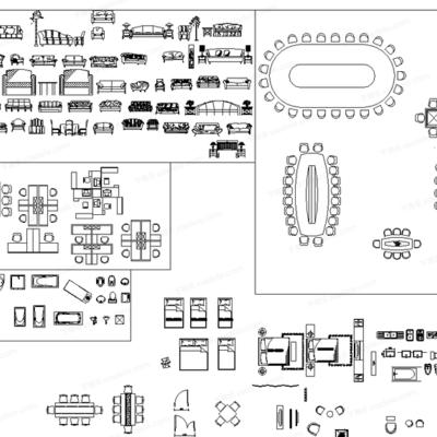 CAD, 模块, 高文安, 下得乐3888套模型合辑