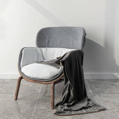 单人沙发, 单椅, 现代