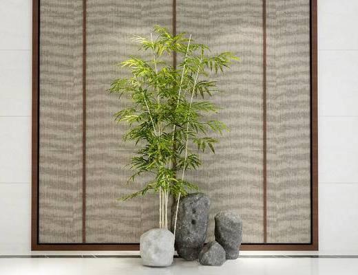 竹子, 新中式